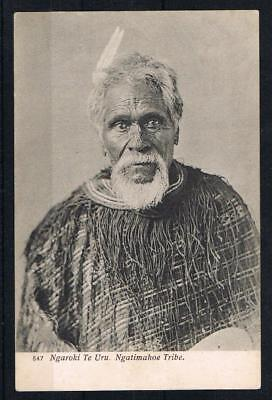 new zealand ngaroki te uru ngatimahoe tribe printed postcard