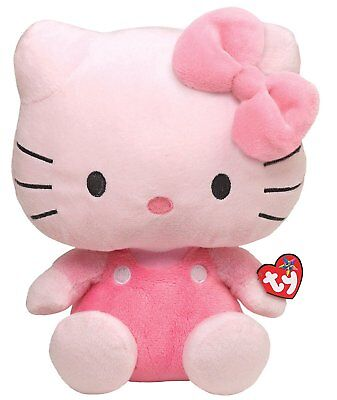 Ty Beanie Buddy Hello Kitty - All Pink Large