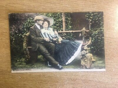 Romantic - J Welch JWS 2438 - Edwardian IN SWEET REPOSE with Best Wishes