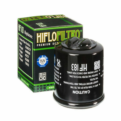 Hiflo Oil Filter HF183 TUV Approved Piaggio 125 Fly / LEM / DT 2005 - 2013