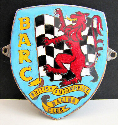 B.A.R.C. (British Automobile Racing Club) Membership Badge