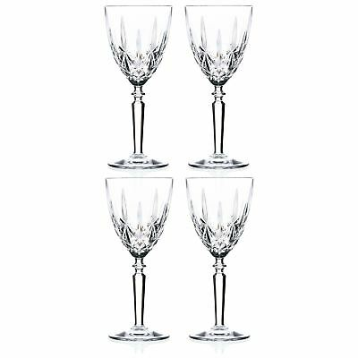 RCR Crystal Orchestra Wine Glasses Red White Drinking Glass 245ml x4