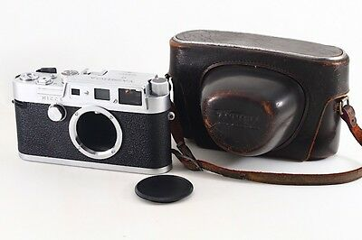 """Very RARE""  YASHICA YF Range Finder camera, ""Exc++"" w/Case From Japan#4945"