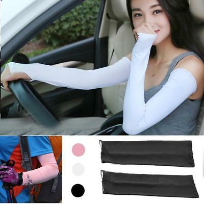New 1 Pair Summer Cooling Arm Sleeves Cover UV Sun Protection Golf outdoor