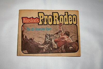 Winston's Pro Rodeo ~ The All American Sport Booklet 1974 Issue