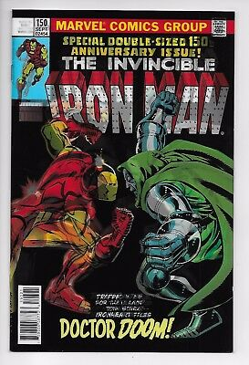 Invincible Iron Man #593 - Legacy Lenticular 3D Variant (Marvel, 2017) New (NM)