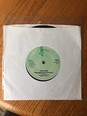 """RAH Band – Messages From The Stars (7"""" Single) Electro funk gem!"""