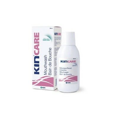 1 x Enjuague bucal Kin Care con aloe vera 250 ml. colutorio boca