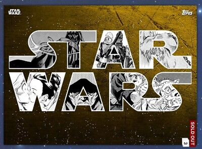 Star Wars Card Trader Gold Manga Empire Strikes Back Darth Vader Digital Card