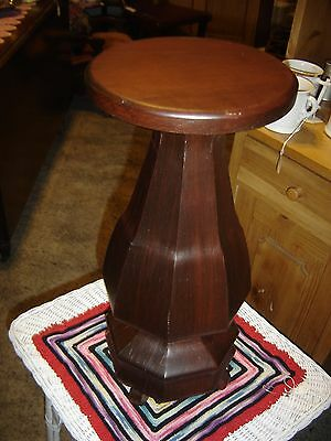 Rosewood Plant Stand     7586