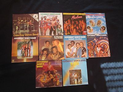 Single-Sammlung - Goombay Dance Band - 10 Singles