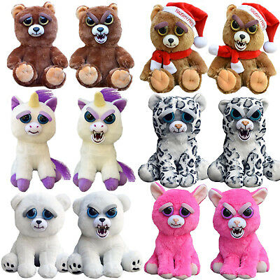 Funny Expression Stuffed Doll Feisty Animal Pets Toys Scary Face Christmas Gift
