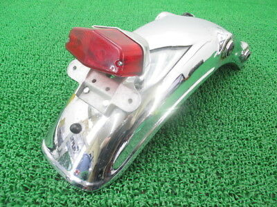 YAMAHA Genuine Used Motorcycle Parts SR400 Rear Fender Good Condition.