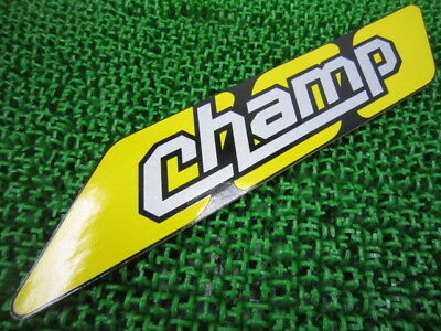 YAMAHA Genuine New Motorcycle Parts Champ Seat Cowl Decal 2GN-21782-10