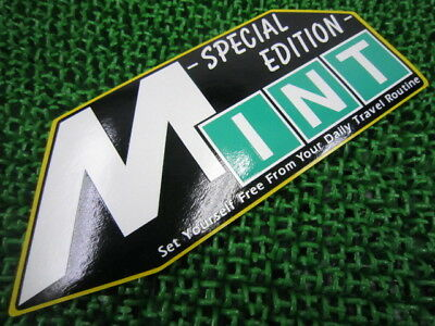 YAMAHA Genuine New Motorcycle Parts Mint Seat Cowl Decal 3HK-21781-10