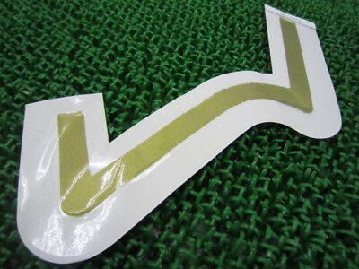 KAWASAKI Genuine New Motorcycle Parts ZXR250 Seat Cowl Decal 56049-1203 ZX250A