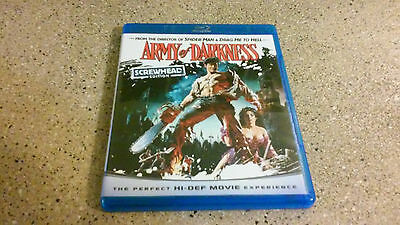Army of Darkness (Blu-ray Disc, 2009 Screwhead Edition)