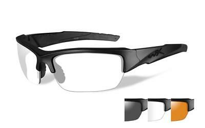 Wiley X WX Valor 3 Lens Tactical Glasses Smoke/Clear/Rust Free P&P Item 3502