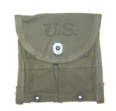 "US WWII M1 Carbine Belt Pouch 1945 ""AVERY "" #W8"