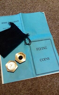 Flying Coins by Bob Solari Ent with prop