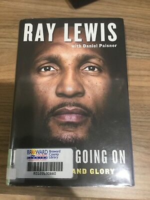 Nfl Book ray Lewis I feel like going on , Baltimore ravens