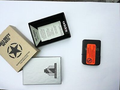 Call of duty zippo limited edition Feuerzeug lighter special edition rare