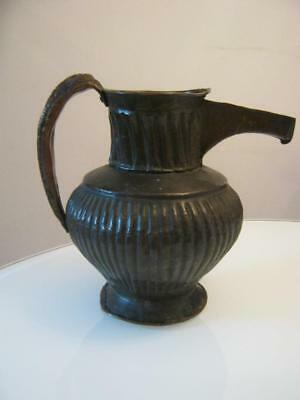 Antique Bronze/copper Ewer