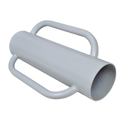 S#Fence Post Driver With Handles Steel Fence Posts One Side Sealed 16 cm diamete