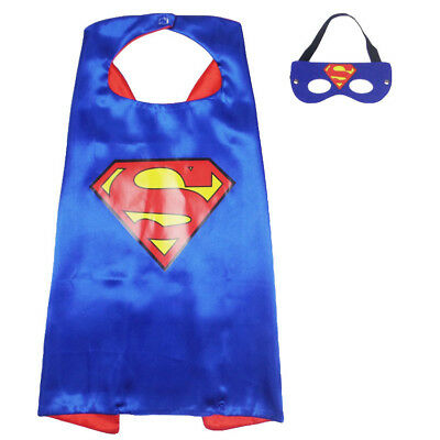 Superhero Cape (1 cape+1 mask) for kids birthday party favors and ideas#11