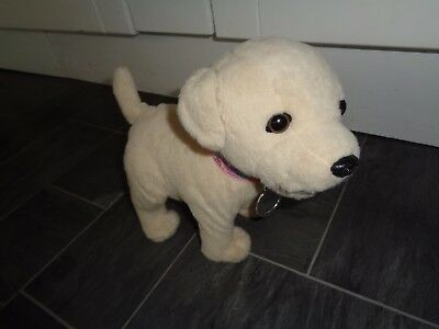 baby born interactive weeing dog- with original collar/tag