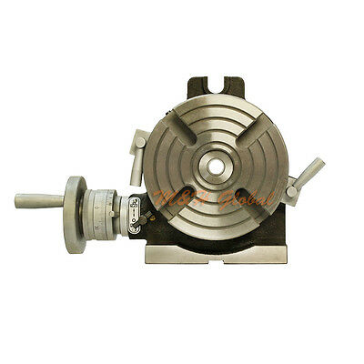 """6"""" PRECISION QUALITY HV ROTARY TABLE HORIZONTAL VERTICAL  Milling Drilling"""