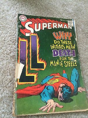 Superman # 204 Dc Comics 1968