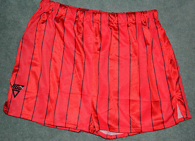 Viga Red Shiny Shorts XL