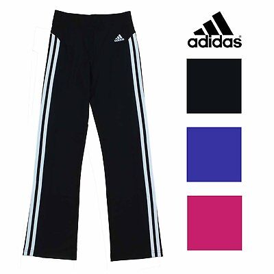 Adidas Girl's Climalite Athletic Track Pants