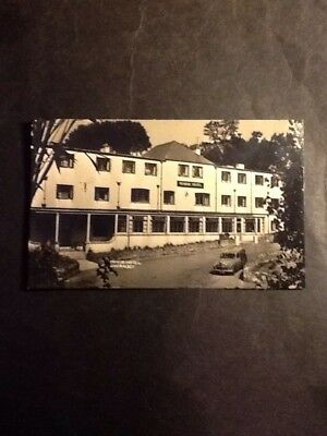 Manor Hotel Guernsey old postcard