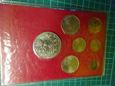 1952 - 1977 SILVER JUBILEE Seven Coin Set In Presentation Pack