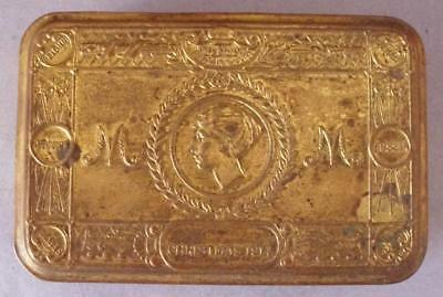 Christmas 1914 Princess Mary Gift Fund Box With Card