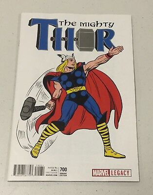 Mighty Thor #700 1:50 Kirby 1965 T-Shirt Variant Legacy Marvel Comics Nm