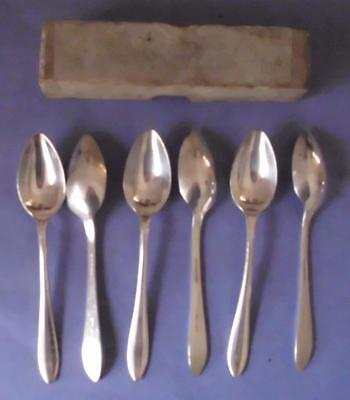 Set Of Six Vintage Silver Plated/epns Teaspoons, Philip Ashberry & Sons