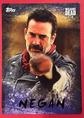 Walking Dead NYCC Exclusive Negan Topps Trading Card
