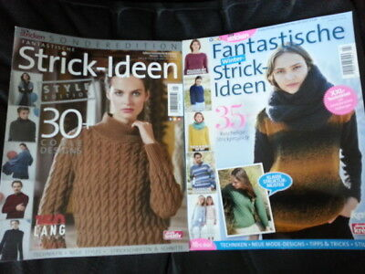 simply Stricken Okt/17 STYLE EDITION + Fantastische Winter Strickideen Nov/2017