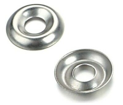 No. 8 Screw Cup Washers A2 Stainless Steel To Fit Countersunk Screws/Bolts
