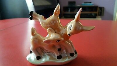 vintage bambi deer ornament