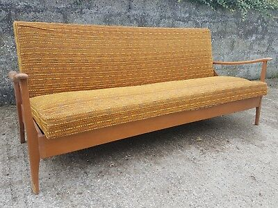 @@ Vintage Retro mid century scandinavian style day bed sofa made in sweden @@