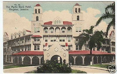 "JAMAICA - The Myrtle Bank Hotel - Kingston - ""Special"" Series  - c1910s postcard"