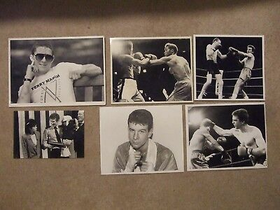 boxing press photo terry marsh receives this is your life book march 1987