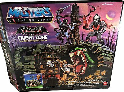 MASTERS OF THE UNIVERSE Playset FRIGHT ZONE - lose & komplett + Verpackung