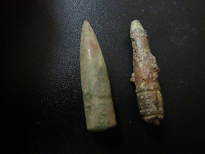 Unknown Objects Antique Bullet Shaped  Figure? Metal Detected Finds
