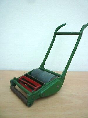 Vintage Dinky Supertoy Toy Lawn Mower Grass Cutter