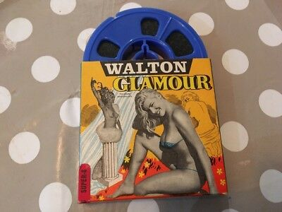 VTG 60s WHO GOES BARE EROTIC 8mm Film WALTON GLAMOUR HOME MOVIE Cheesecake